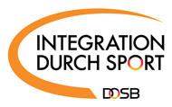 DOSB Logo Integration durch Sport